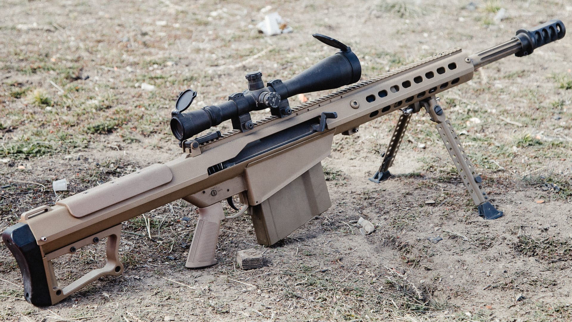 ประวัติ barrett m107a1 ปืนไรเฟิลซุ่มยิงขนาด .50 ลำแรกที่ถูกผลิตขึ้น